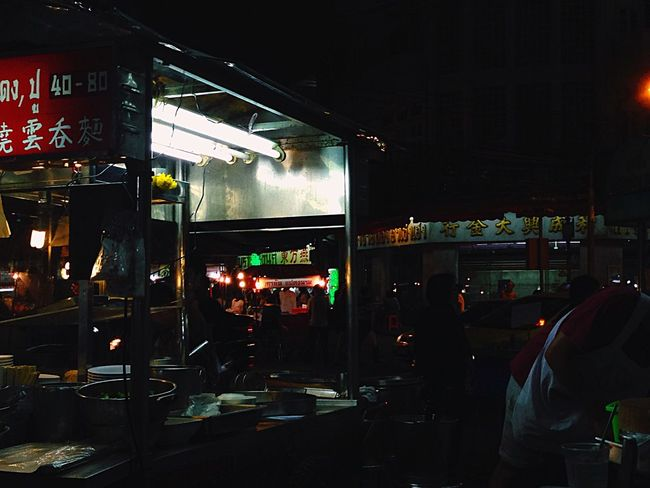 Bangkok Chinatown Streetphotography Noodles Night Nightphotography
