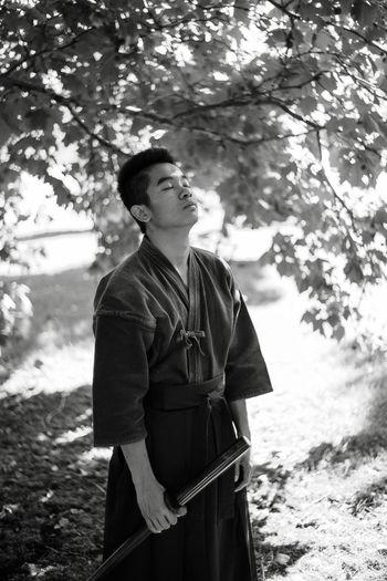 The modern samurai.