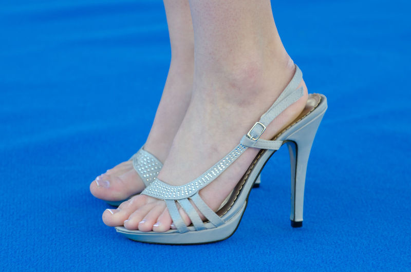 High Heels. Adult Blue Blue Shoes Business Business Woman Celebrities Close-up Dress How You Feel Dress Shoes Elegance And Class Elegance Beauty Footwear High Heels Human Body Part Human Foot Human Leg Lifestyles Limb Low Section One Person One Woman Only Part Of Part Of People Unrecognizable Person