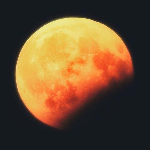 Moon Eclipse Glow Sky Night Shiny Breathing Space The Week Of Eyeem The Week On EyeEem