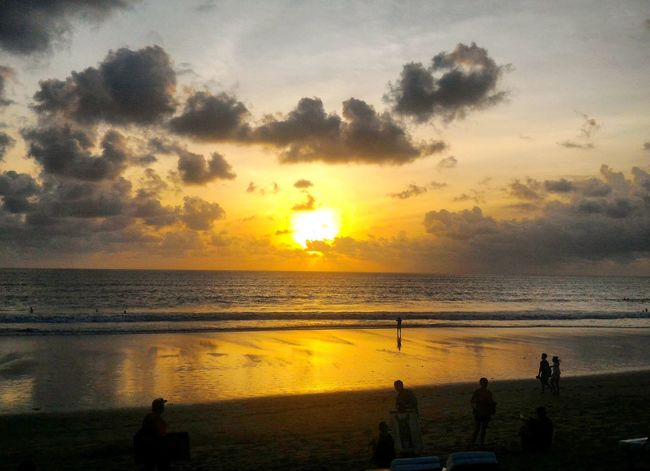 Ketika tiap kali sunset datang, rindu itu semakin bertambah... when every sunset comes, missed it growing... . Sunset_collection Beauty In Nature Nature Sunset Sea Silhouette Sky Bali, Indonesia Tripofwonders Check This Out Photography Sunsetlovers Wonderful Indonesia INDONESIA Rindu Missyou Sun Sunshine