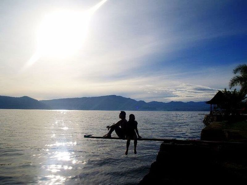 Creative Light And Shadow LakeToba  Samosirisland INDONESIA MItravelography