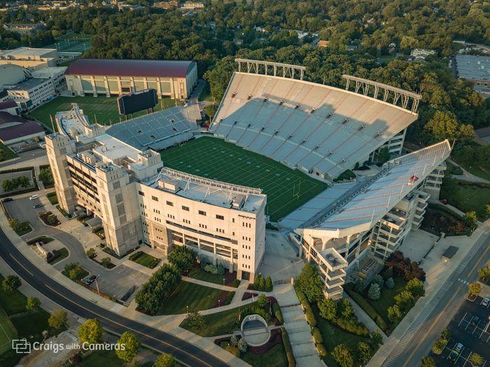 DJI Mavic Pro Drone  HOKIES Virginia Tech Virginia Tech Football  Aerial Photography Dji