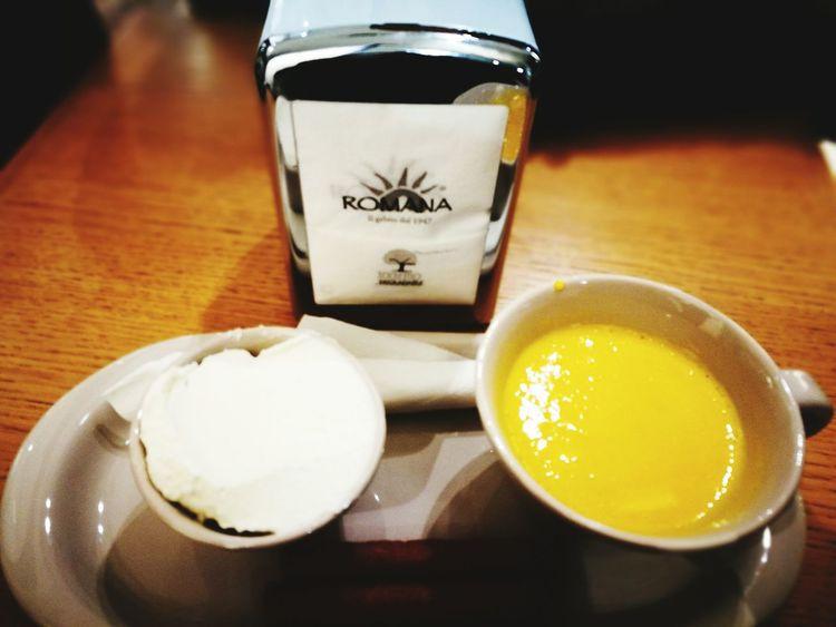Drink Food And Drink Freshness Indoors  Healthy Eating Tea - Hot Drink Drinking Glass Food Egg Yolk No People Ready-to-eat Zabaione Panna LaRomana Gelateria Eggnog Hot Eggnog
