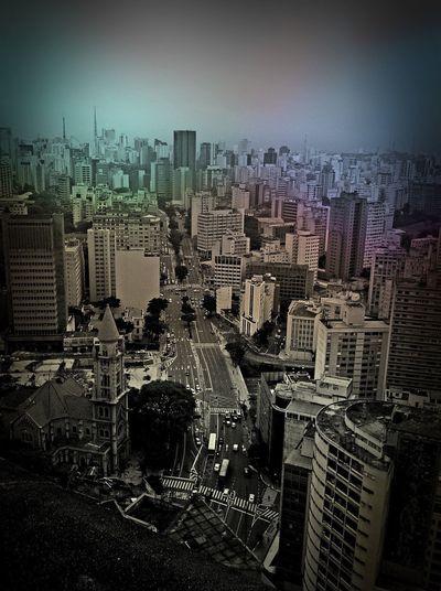 São Paulo Copan Skyline Sãopaulo Blackandwhite