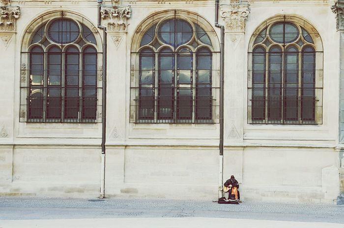 L'homme A La Guitarre Paris ❤ Halles Montorgueil Noel2015 Music Musician Rue Eglise
