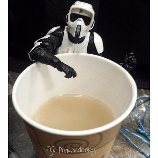 """I asked for a cappuccino what the hell is that?! """"This is what the droid produced sir"""" That is clearly not the cappuccino I'm looking for! Find that droid and bring it to me for disposal. Coffeeawakens Nocoffeenoworky Coffee Coffeeordeath Crappuccino"""