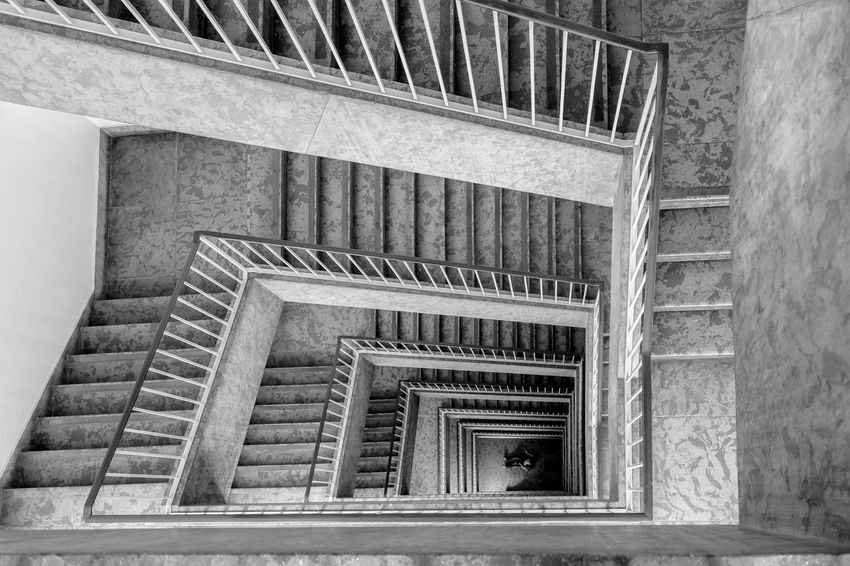 stairs... Architecture Architektur Staircase Stairs Steps Structure Stufen Treppe Treppenhaus Black And White Friday The Graphic City The Architect - 2018 EyeEm Awards The Architect - 2018 EyeEm Awards