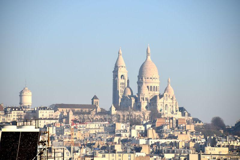 Architecture Building Exterior Built Structure Tourism Montmartre