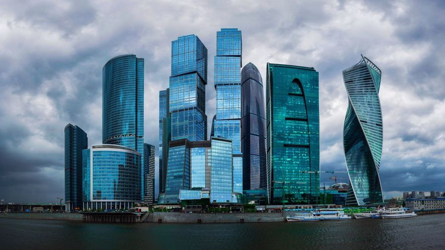 Building Exterior Built Structure Skyscraper Office Building Exterior Architecture City Building No People Travel Destinations Office Landscape Tall - High Nature Water Modern Cityscape Sky Urban Skyline Cloud - Sky Financial District