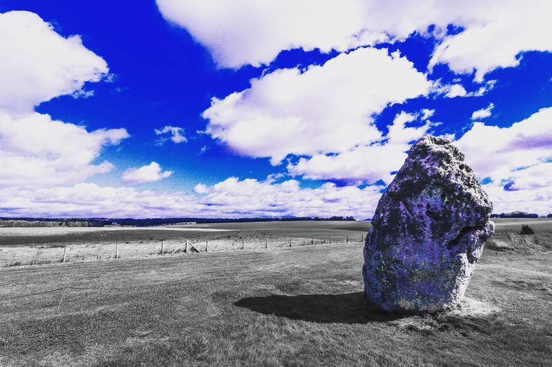 Heel Stone Stonehenge 760D Canon Canonphotography Sky Clouds Clouds And Sky Monument Heritage Ancient England Unitedkingdom Britain Salisbury