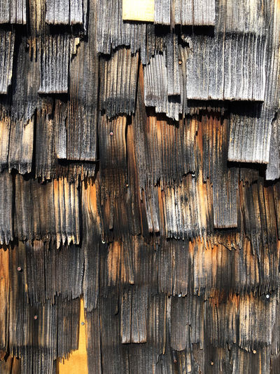 Backgrounds Berghütte Close-up Full Frame Holz Holztextur No People Outdoors Wood - Material