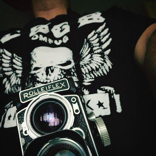 Rolleiflex CBGBs OMFUG T-shirt Icons