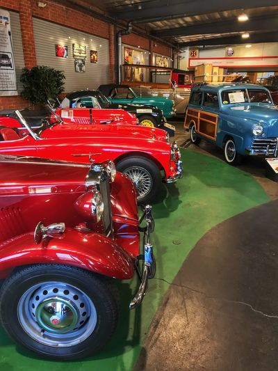 Automobile Automotive Photography Display Museum Classic Cars Car Land Vehicle Red Transportation Mode Of Transport