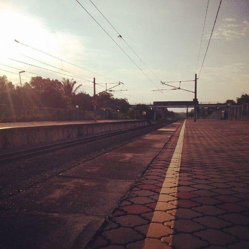 Morning Tiroi Ktm Railway 20150527