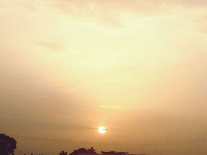 Sunset Nature Sky Scenics Beauty In Nature Tranquility Tranquil Scene Outdoors Sun Landscape No People Sunrise Day