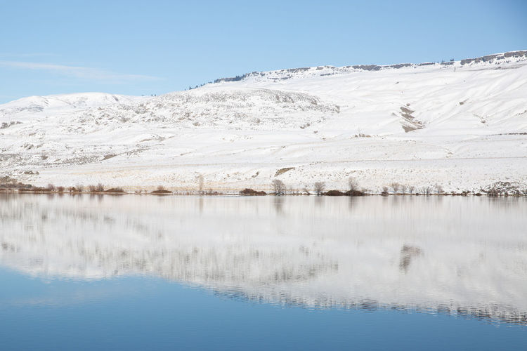 The rugged Pacific Northwest in winter Tranquil Scene Water Tranquility Cold Temperature Beauty In Nature Scenics - Nature Winter Snow No People Copy Space Pacific Northwest  Lake Mountain Hill Snow Melt Nature Landscape Backgrounds Calm Calm Scene Reflection Calm Water Reflection Lake Reflections In The Water Serene Outdoors
