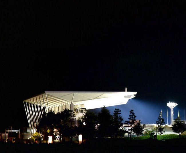 Matsumoto Nagano Japan 日本代表 U-23 アルウィン 帰宅途中通りかかったら歓声が響いてた⚽️🇯🇵 日本チャチャチャ
