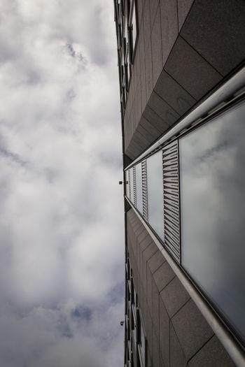 Architecture Belgique Belgium Brussels Building Exterior Built Structure Cloud - Sky Day Low Angle View No People Outdoors Sky Skyscraper