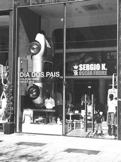 Sao Paulo - Brazil Oscar Freire Dia Dos Pais Jardins Street Urban Storefront Store Shelby Cobra Shelby  Wall - Building Feature Wall