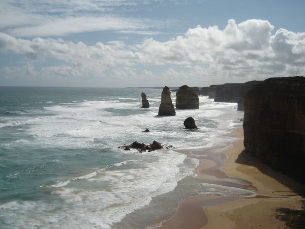 12 Apostles Beach Beauty In Nature Nature No People Outdoors Sea Sky The Purist (no Edit, No Filter)