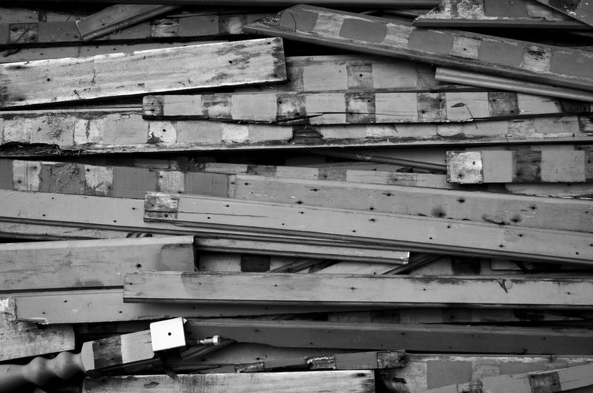 Abstract Blackandwhite Gray No People Object Old Wood - Material