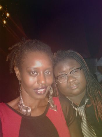 Two People Togetherness Close-up Eyeglasses  Dreadlocs Lips Melanin Lesbian Beautiful Skin Goddess Friendship Enjoyment Nightlife Drunk Friends Red Kisses Chocolate Lesbian Love  Cheerful Awkwardly Awesome Drunk Nights Darksin Beautiful People Party - Social Event Standing
