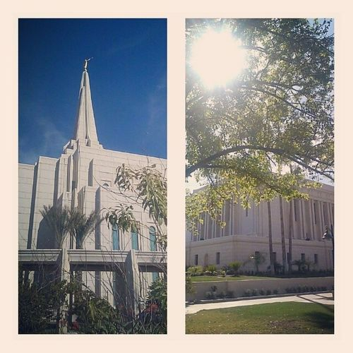 Two temples = a spiritually fulfilling day. :) Gilberttemple Mesatemple Beautifulday SoBlessed lds temples love joy peace lovetoseethetemple