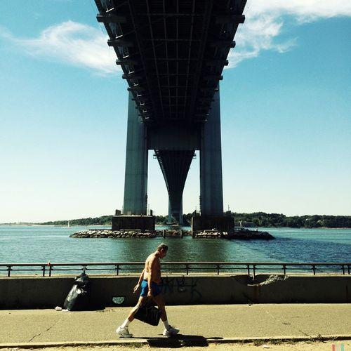 Verrazano Bridge Walking Around Streetphotography Enjoying The Sun