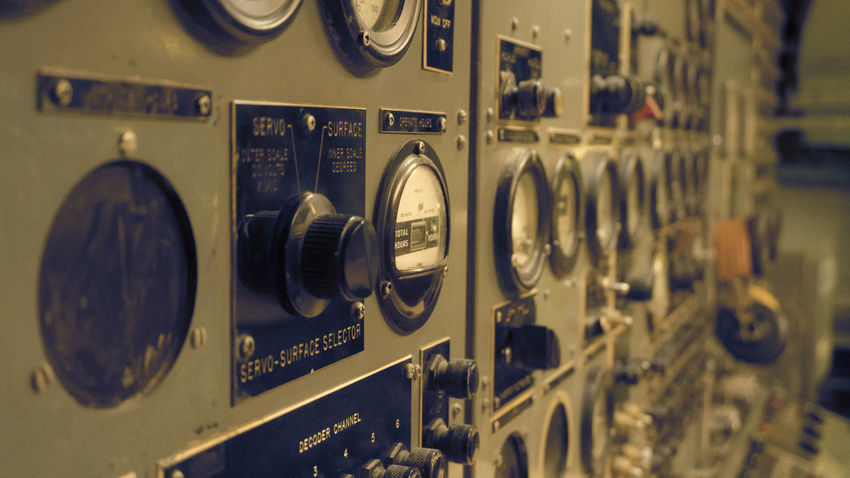 Intrepid Intrepidseaairspacemuseum New York City New York ❤ Buttons Buttons And Buttons Washing Machine Close-up Full Frame Old-fashioned Technology Knob Indoors