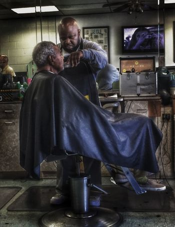 That time again Barber Shop HDR HDR Collection Candid