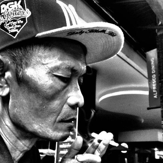 DGK Oldman Blackandwhitephotography Blackandwhite snapback smoke