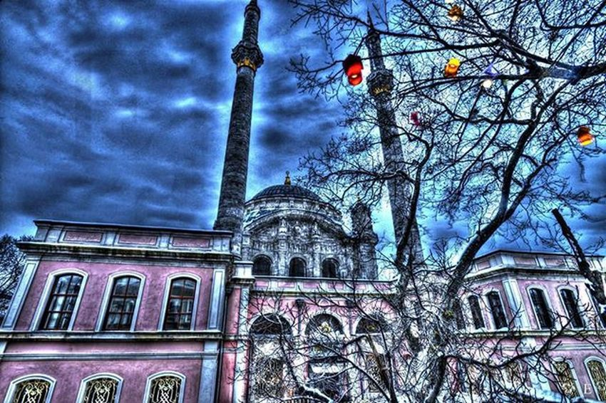 Istanbul Ortaköy HDR Photography Cami Mecidiyecami Ortakoycami Mosque Blue Puple Colors Photomatixpro Hdr_pics Eigtheenframes Scene Structure Architecture Ancient Emrahnihaterel Saturdaysuprize Hdr_professional