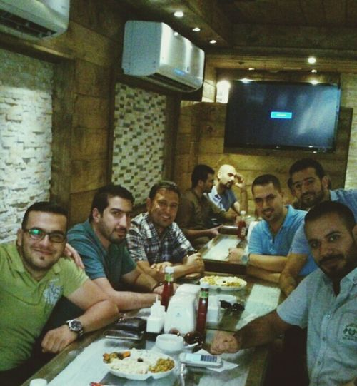Me Friends ❤ Dinner Happy with friends ♥ اصدقائي