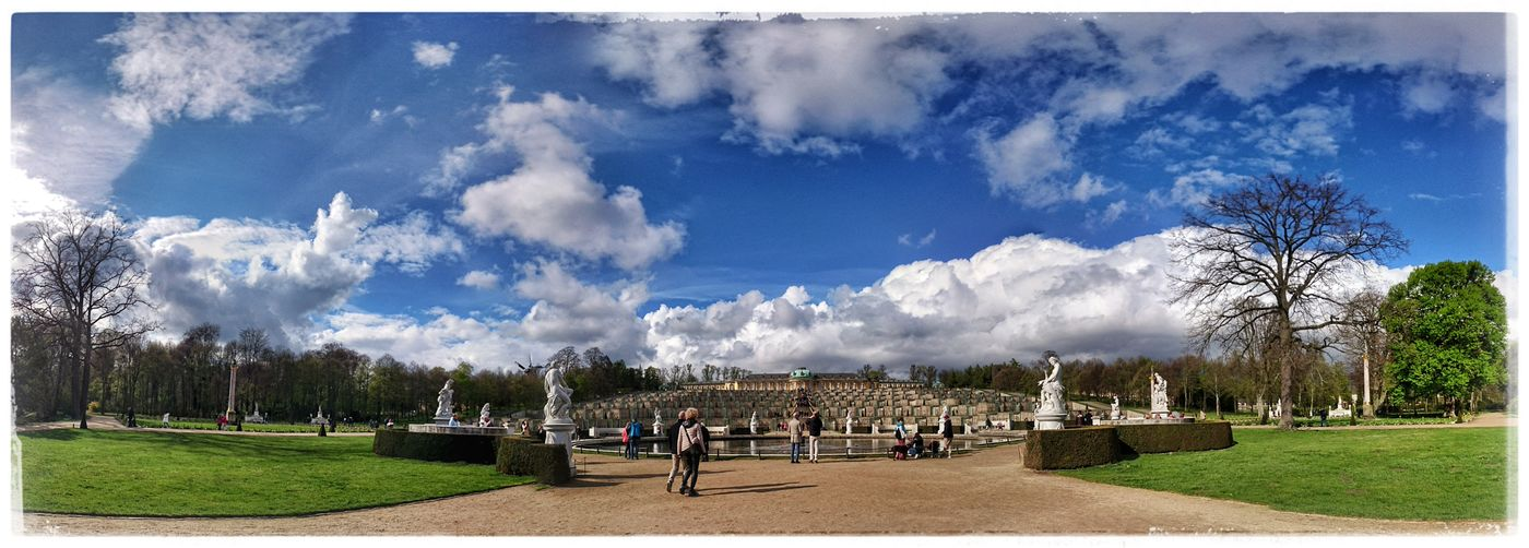 A walk in the park Sanssouci Park Potsdam Panorama View Likeatourist Tourist Destination Sanssouci