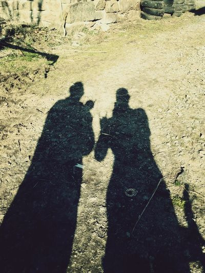 Im seriously starting to fear my own shadow :/ Nosferatu and his unknown twin reborn :p ? That's Me Dennis Sehlin