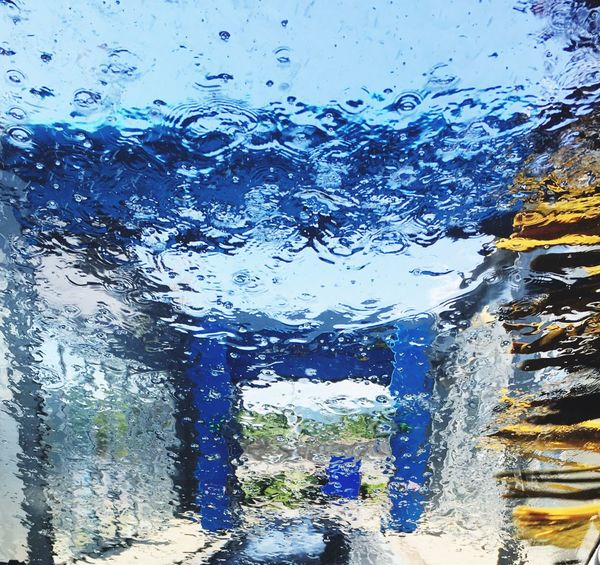 Car Washing Car Wash Day Car Wash, The Modern Way Water Through The Glass Taking Photos Check This Out IPhoneography