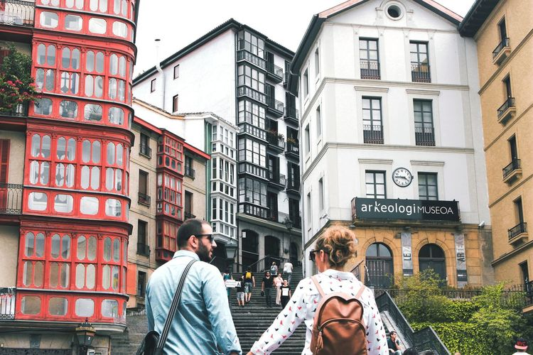 Your Ticket To Europe Europe People City Day Lifestyles Street Town Photography Humans SPAIN Adult City Life Women Men Architecture Couple - Relationship Building Exterior Built Structure Adults Only Group Of People Travel Destinations Real People Outdoors Young Women