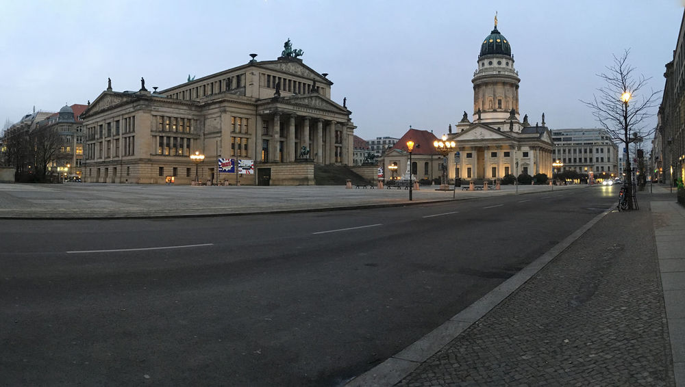 Architecture Berlin Berlin Mitte City Cityscape Dawn Konzerthaus Berlin No People Outdoors Road