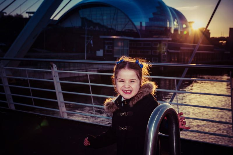 Sophia ❤️️ One Person Real People One Girl Only Childhood Happiness Outdoors Children Only Smiling Night Architecture People Sunset Daughter Family Nikonphotography TheWeekOnEyeEM Nikon
