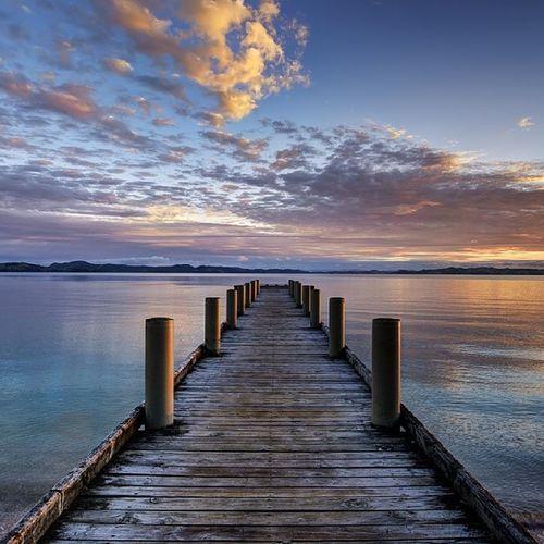 Good morning (2014) dedicated to someone who loved sunrises Newzealand Landscape Aoteoroa Happynewyear beach 2014 sunrise