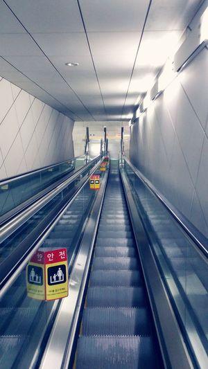 Escalate Korea Streetphotography Subway Subway Station