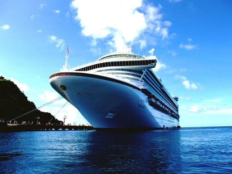 Travel Sea St.Vincent Cruseship Kingstown Resort Carribean WestIndies