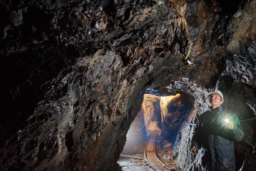 Schneeberg Erzgebirge SONY A7ii Untertage In Schneeberg Beauty In Nature Bergbau Cave Day Indoors  Men Nature One Person People Real People Rock - Object Rock Formation Sachsen Schneeberg Untertage Water Waterfall Young Adult Go Higher