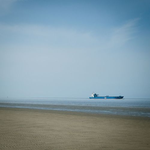 Sea Horizon Over Water Nautical Vessel Transportation Beauty In Nature Nature Water Sky Mode Of Transport Beach No People Scenics Tranquility Nature Photography Travel Landscape_photography EyeEm Best Shots EyeEm Nature Lover Landscape Beachday Northsea Nordsee Wattenmeer Ship Otterndorf