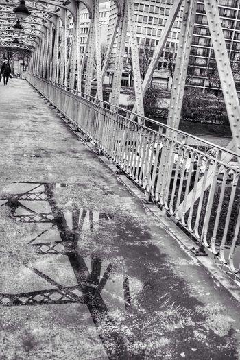 Bridge Iron Built Structure Architecture Streetphotography Urban Geometry Blackandwhite