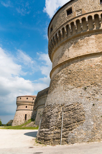 Ancient Ancient Civilization Archaeology Architecture Building Exterior Built Structure Cloud - Sky Day Fortress History Italy Low Angle View No People Old Ruin Outdoors Rimini San Leo Sky The Past Tourism Travel Travel Destinations