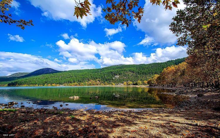 😊 günaydın Water Lake Tree Cloud Beauty In Nature Mountain Nature Calm *igdaily *nikon * Zamanıdurdur *awesome Antalya Turkey *landspace *Naturally Beautiful~