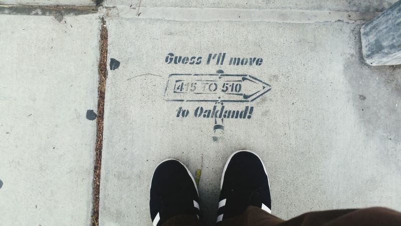 In The City Moving On to Oakland Ca Homesick