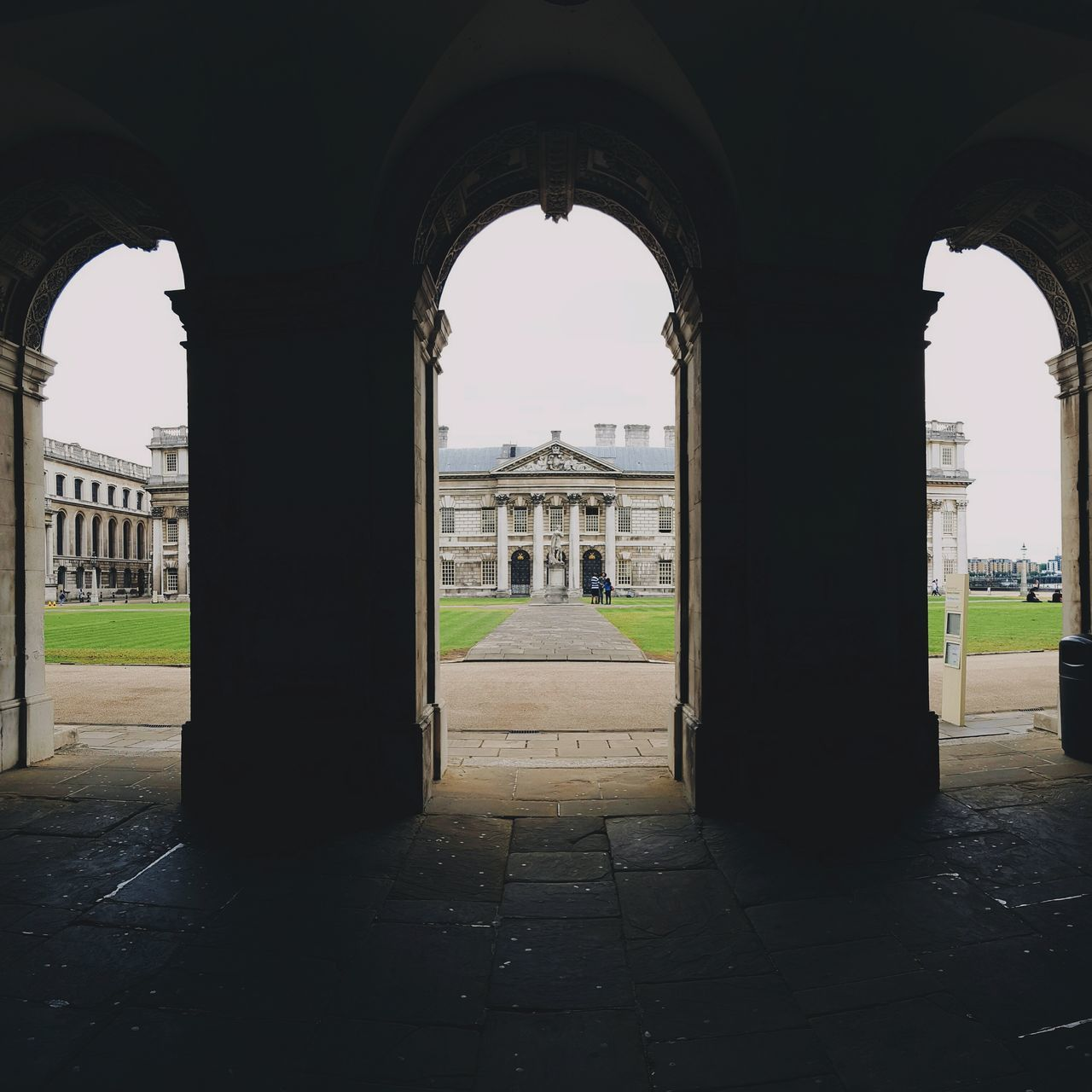 arch, architecture, built structure, history, architectural column, the way forward, day, no people, indoors, sky